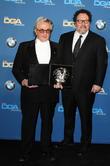 Director George Miller and Jon Favreau