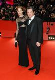 Josh Brolin and Kathryn Boyd