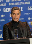George Clooney Snaps At Reporter Over Refugee Activism