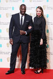 Laura Haddock and Adewale Akinnuoye-agbaje