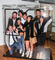 Gary Beadle, Marnie Simpson, Chloe Etherington, Nathan Henry, Aaron Chalmers, Marty Mckenna, Chantelle Connolly and Scott Timlin