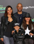Salli Richardson, Dondre Whitfield, Parker Richardson Whitfield and Dre Terrell Whitfield
