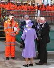 Queen Elizabeth Ii, Boris Johnson and Patrick Mcloughlin
