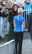 Catherine, Duchess Of Cambridge, Kate Middleton and Judy Murray