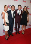 Eddie Redmayne, James Corden, Hannah Bagshawe and Julia Carey