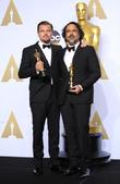 Leonardo Dicaprio and Alejandro G. Iñárritu
