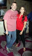 Tony Stewart and Danica Patrick