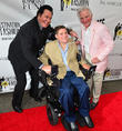 Wayne Newton, Marc A. Buoniconti and Nick Buoniconti