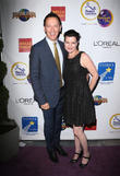 Steve Valentine and Pauley Perrette