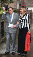 Barry Humphries and Lizzie Spender