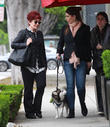 Sharon Osbourne and Aimee Osbourne