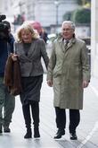 Mervyn King and Tracey Steggles