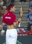 Andy Murray and Kei Nishikori