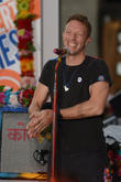 Chris Martin Brings Son Onstage To Celebrate Birthday