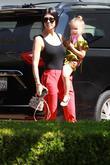 Kourtney Kardashian and Penelope Scotland Disick