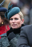 Zara Tindall and Zara Phillips