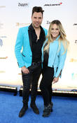Frankie Moreno and Lacey Schwimmer