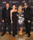 Dick Wolf, Noelle Wolf, Coco Austin and Ice-t