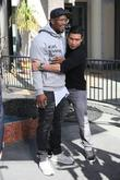 Von Miller and Mario Lopez