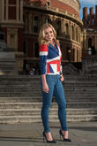 Katherine Jenkins Records Queen's Birthday Anthem