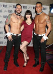 Claire Sinclair and Chippendales