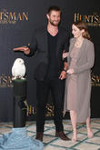 Emily Blunt and Chris Hemsworth