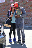 Sharna Burgess and Antonio Brown