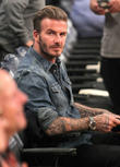 David Beckham Launches Men's Grooming Range