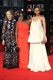 Laura Carmichael, Uzo Aduba and Zawe Ashton