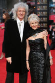 Brian May and Anita Dobson