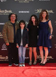 Brad Silberling, Amy Brenneman, Charlotte Tucker Silberling and Bodhi Russell Silberling