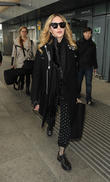 Madonna Arrives In London For Showdown With Guy Ritchie