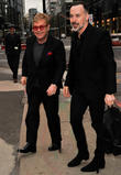Elton John Referes To 'Unpopular' Husband David Furnish As 'Yoko'