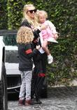 Petra Ecclestone, Lavinia Stunt, Andrew Stunt and James Stunt Jr.