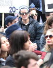 Lily Allen Joins Anti-david Cameron Protesters In London