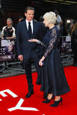 Dame Helen Mirren and Colin Firth