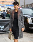 Emotional Jennifer Hudson Attends Ceremony For Slain Nephew