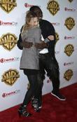 Margot Robbie and Adewale Akinnuoye-agbaje