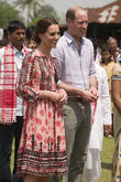Prince William And Duchess Kate Fine After Asian Earthquake