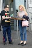 Pixie Lott and Stephen Jones