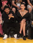 The Weeknd and Belle Hadid
