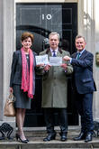 From Left, Diane James Mep, Nigel Farage and Peter Whittle