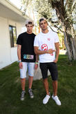 Louren Groenewald and Liam Vandiar at Palm Springs