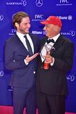 Daniel Bruehl and Niki Lauda