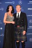 Karen Minier and David Coulthard