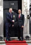 David Cameron and Joko Widodo