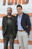 Luis Tosar and Mario Casas