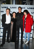 Max Bennett, Sadie Frost, Ben Charles Edwards and Noel Fielding