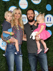 Mark-paul Gosselaar, Wife Catriona Mcginn, Son Dekker Edward Gosselaar and Daughter Lachlyn Hope Gosselaar