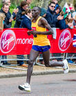 Stanley Biwott and Elite Men's Second Place In The London Marathon 2016